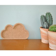 April Eleven Cork Cloud Coin Tray-listing