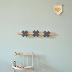 April Eleven Cross Coat Hanger-listing