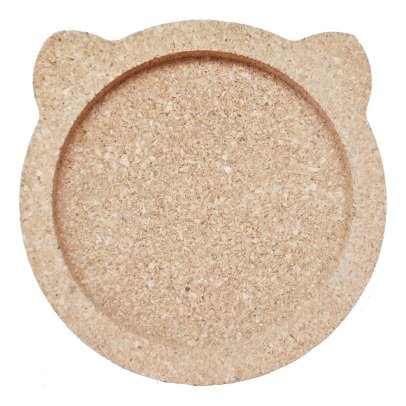 April Eleven Cork Bear Coin Tray-listing
