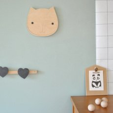 April Eleven Wanddeko Katze -listing
