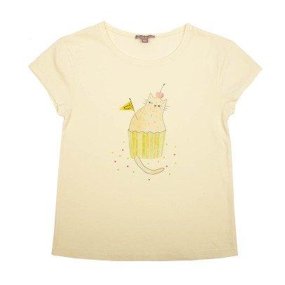Emile et Ida T-shirt Cup Cake Gatto-listing
