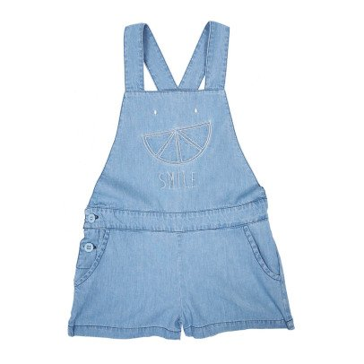 Emile et Ida Salopette Chambray	-product
