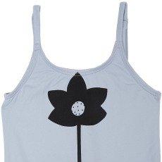 Emile et Ida Nude Back Floral 1 Piece Swimsuit-listing