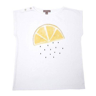 Emile et Ida T-shirt Citron-listing