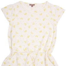 Emile et Ida Polka Dot Lemon Dress-listing