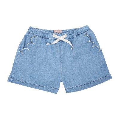 Emile et Ida Chambray Shorts-product