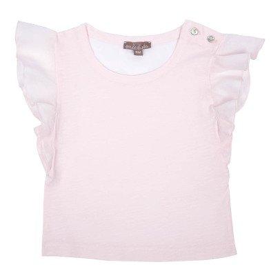 Emile et Ida T-shirt Volants-listing