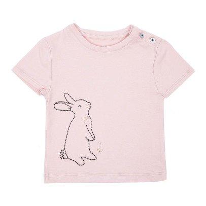 Emile et Ida Nino Embroidered Rabbit T-Shirt-product