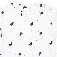 Emile et Ida T-shirt Canard Pois Lou-listing