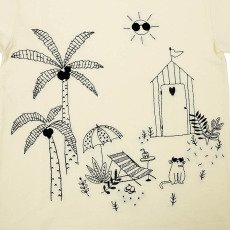 Emile et Ida Garden Embroidered T-Shirt-product