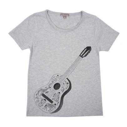 Emile et Ida T-Shirt Gitarre -listing