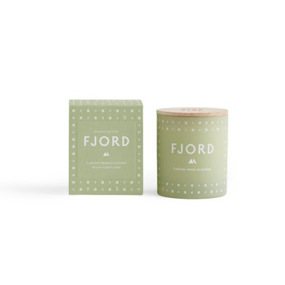 Skandinavisk Bougie parfumée Fjord avec couvercle - 190 g-listing