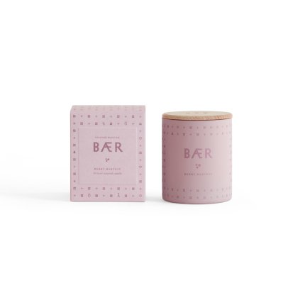 Skandinavisk Vela perfumada Berry con tapa - 190 g-listing