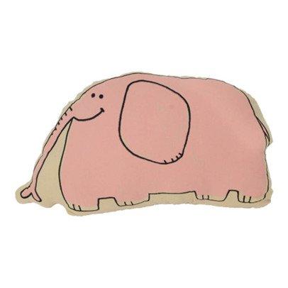 Gab et Lou Pink Cushion Elephant-listing