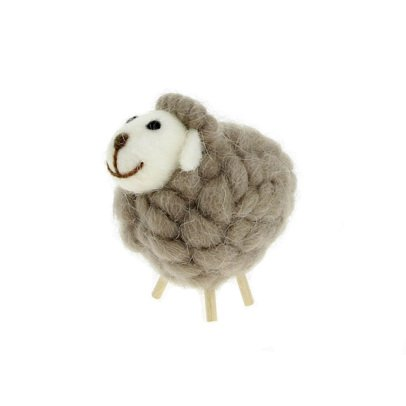 Gab et Lou Beige Decorative Sheep-listing