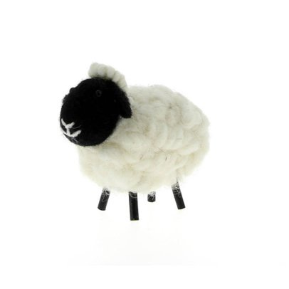 Gab et Lou Multicolored Decorative Sheep-listing