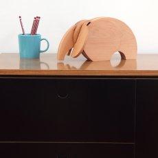Wodibow Elefante en madera imantada -listing