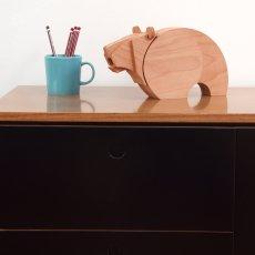 Wodibow Wooden Bear Magnet-listing