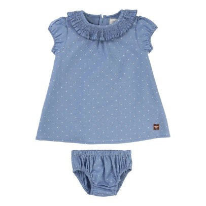 CARREMENT BEAU Robe + Bloomer Pois-listing