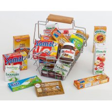 Polly Shopping Basket and Food-listing