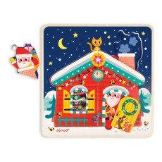Janod Puzzle tre livelli nella notte di Natale-listing