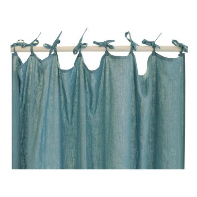 Lab Cortina lino con nudos-listing