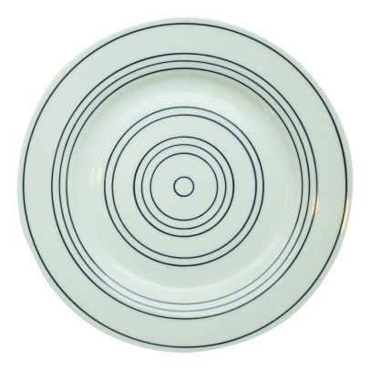 Lab Plato llano porcelana-product