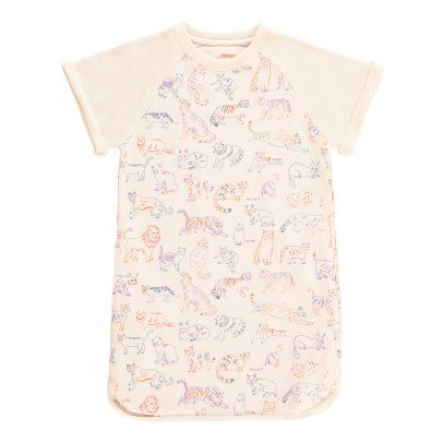 Stella McCartney Kids Exclusivité Stella McCartney x Smallable - Robe Molleton Félins-listing