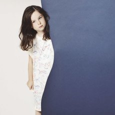 Stella McCartney Kids Exklusiv Stella McCartney x Smallable – Molton-Kleid Raubkatzen-listing