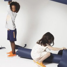 Stella McCartney Kids Exclusive Stella McCartney x Smallable - Perforated Star Slip-Ons-listing