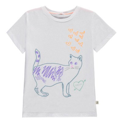Stella McCartney Kids Esclusivo Stella McCartney x Smallable - T-Shirt Gatto-listing