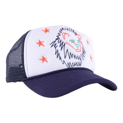 Stella McCartney Kids Exclusive Stella McCartney x Smallable - Lion Baseball Cap-listing