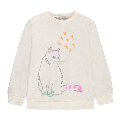 Stella McCartney Kids Esclusivo Stella McCartney x Smallable - Felpa Gatto-listing