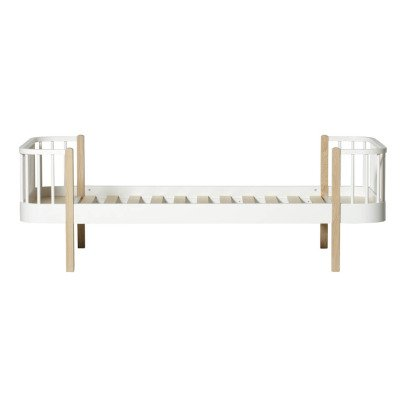Oliver Furniture Oak Bed 90x200cm-listing