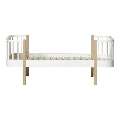 Oliver Furniture Cuna 90x160 cm en roble con kit evolutivo-listing