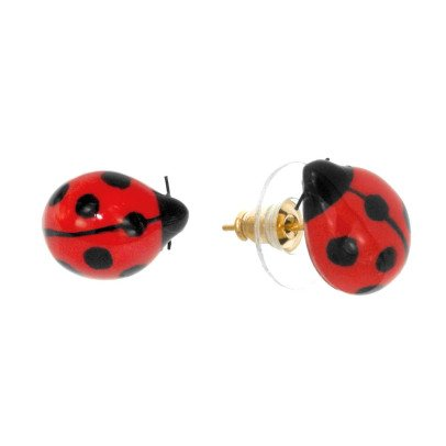Nach Mini Ladybird Porcelain Earrings-listing
