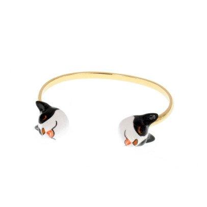 Nach Face To Face Porcelain Bulldog Bracelet-listing