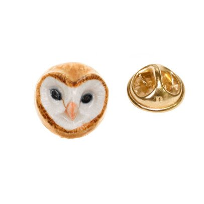 Nach Owl Porcelain Pin-product