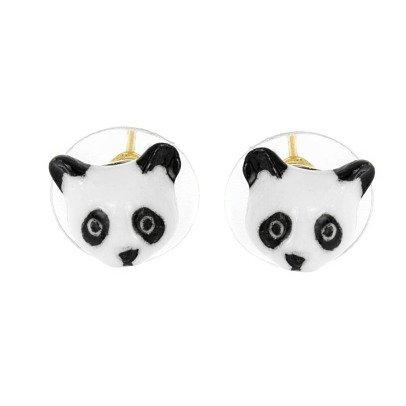 Nach Mini Panda Porcelain Earrings-product