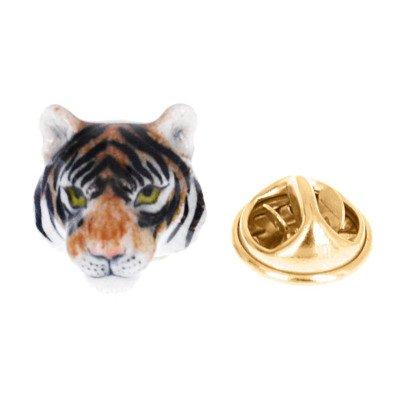 Nach Brosche aus Porzellan Tiger-listing