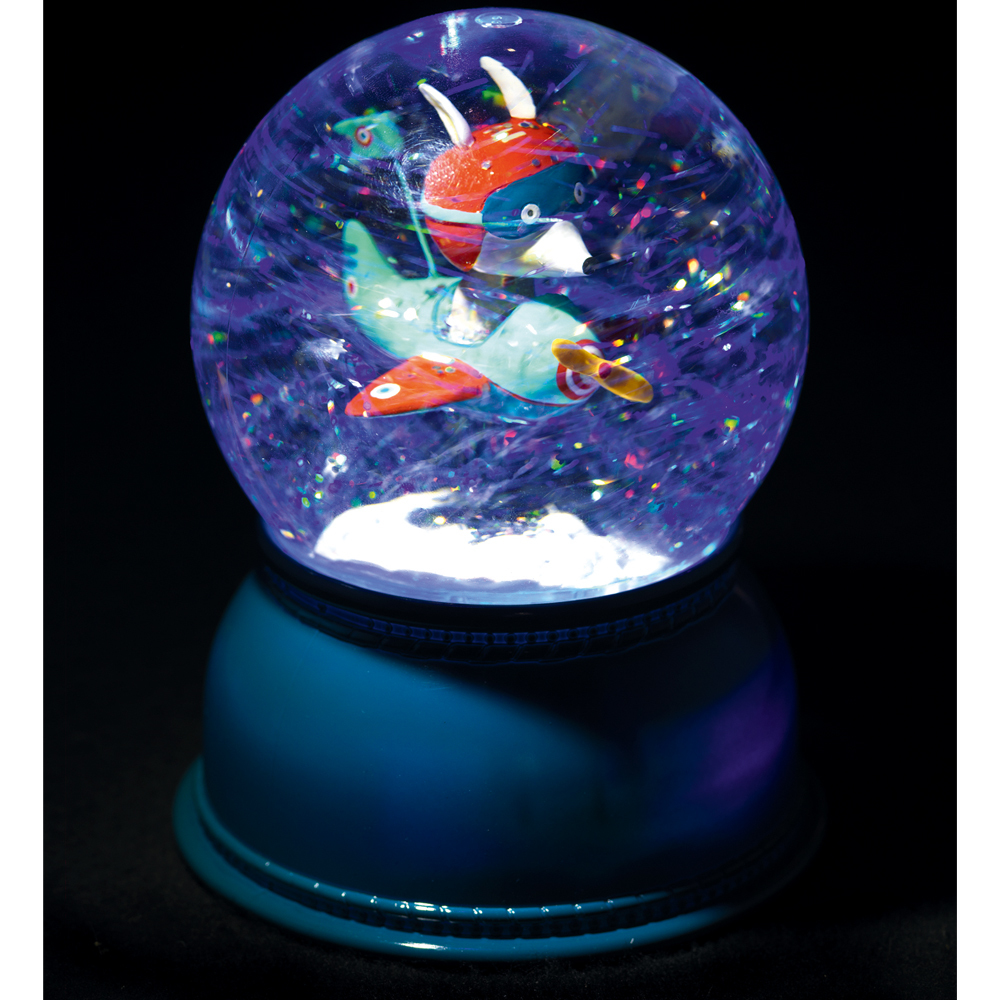 Multicoloured Aeroplane Night-Light-product