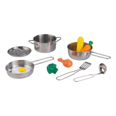 KidKraft Kitchen Pots and Utensils Set-listing