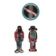 Macon & Lesquoy Stemmi Termocollanti   Badge Beautiful Multicolore-listing