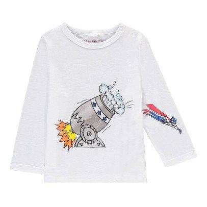 Stella McCartney Kids Georgie Human Cannonball T-Shirt-listing