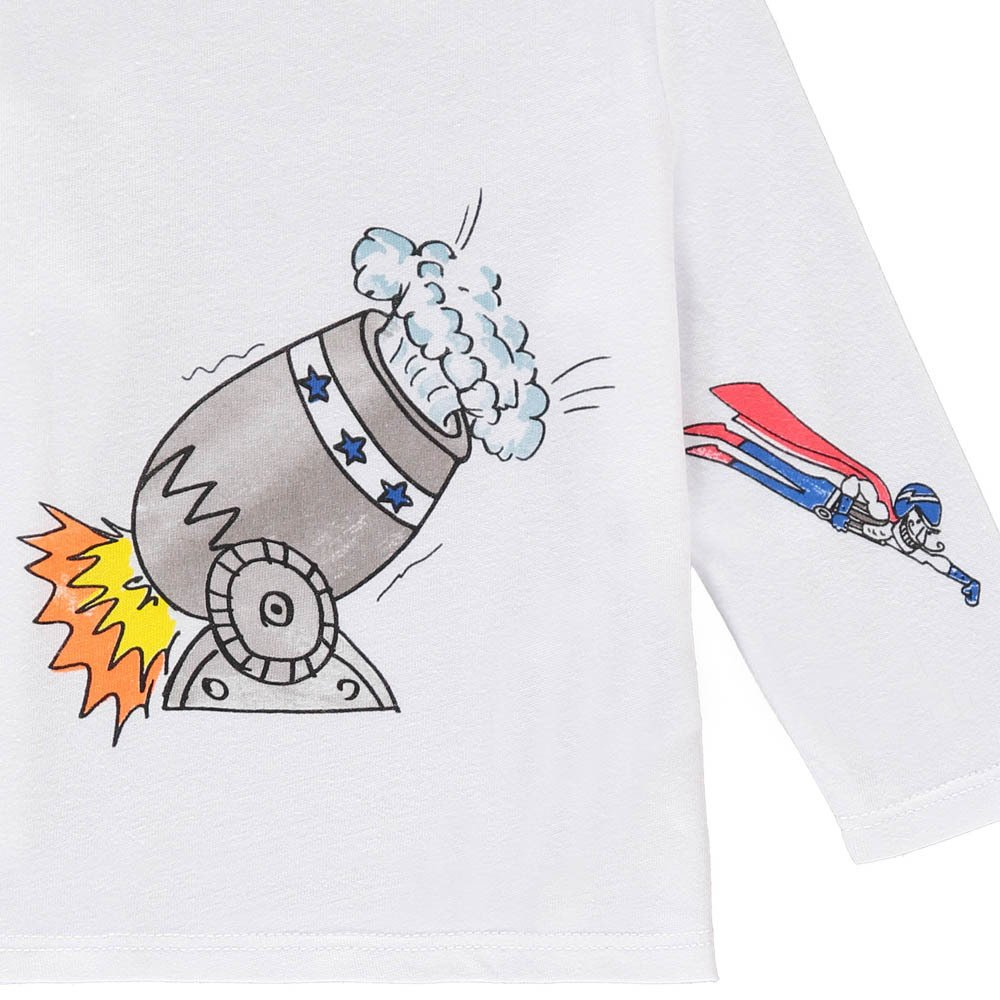 Stella McCartney Kids Georgie Human Cannonball T-Shirt-product