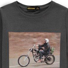 Finger in the nose Longjohn Biker T-Shirt-listing
