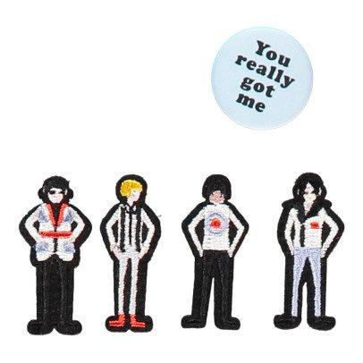 Macon & Lesquoy Iron-on The Kinks Badge Noir-listing