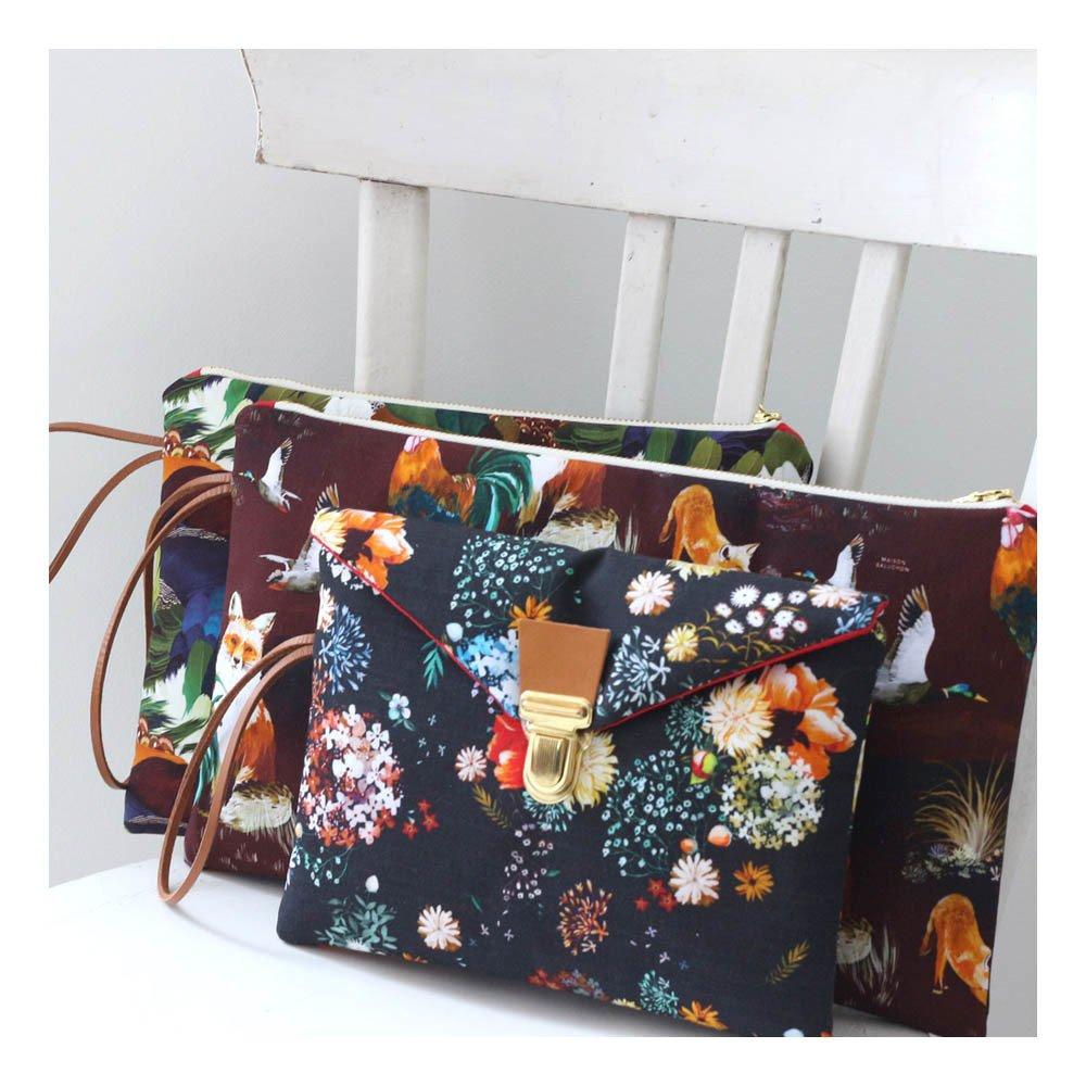 Maison Baluchon Pochette Ipad Mini Fleurs-product