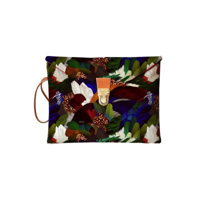 Maison Baluchon Bustina iPad Mini Stampa Selvaggia-listing