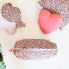 Blossom Paris Pepper Pink Liberty Squre Cushion 28x28cm-listing